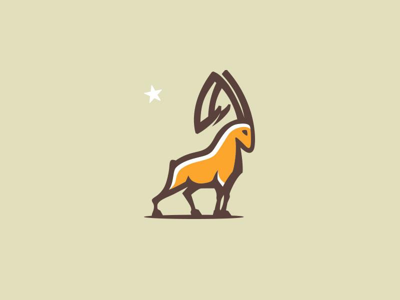 Goat Logo Design by Mersad Comaga