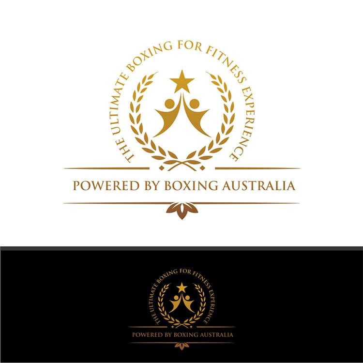 Gold Logo Design by South Door