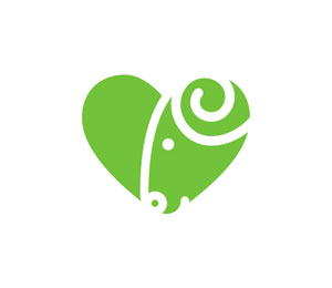 Heart Logo Design by Alex Kirhenstein | Draward