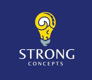 Light Bulb Logo Design by Grigoriou