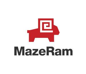 Maze Logo Design by Simplepixelsl