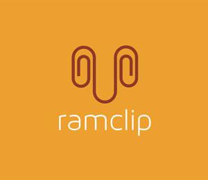 Paper Clip Logo Design by Shtef Sokolovich