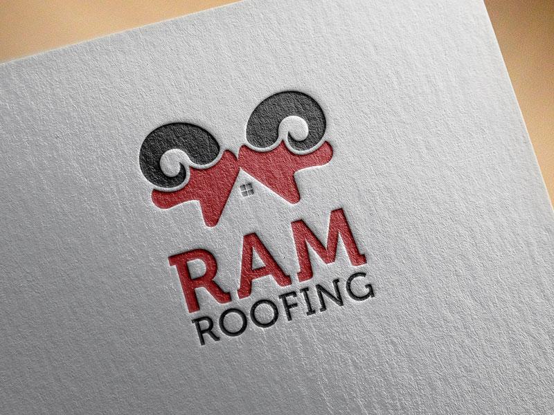 Roof Logo Design by Rakesh Mohan