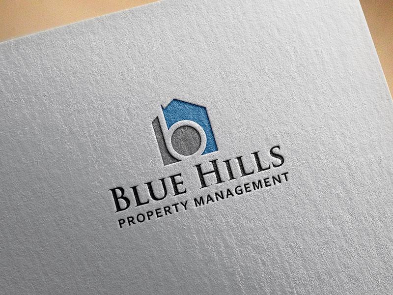 Blue Logo Design by Deku