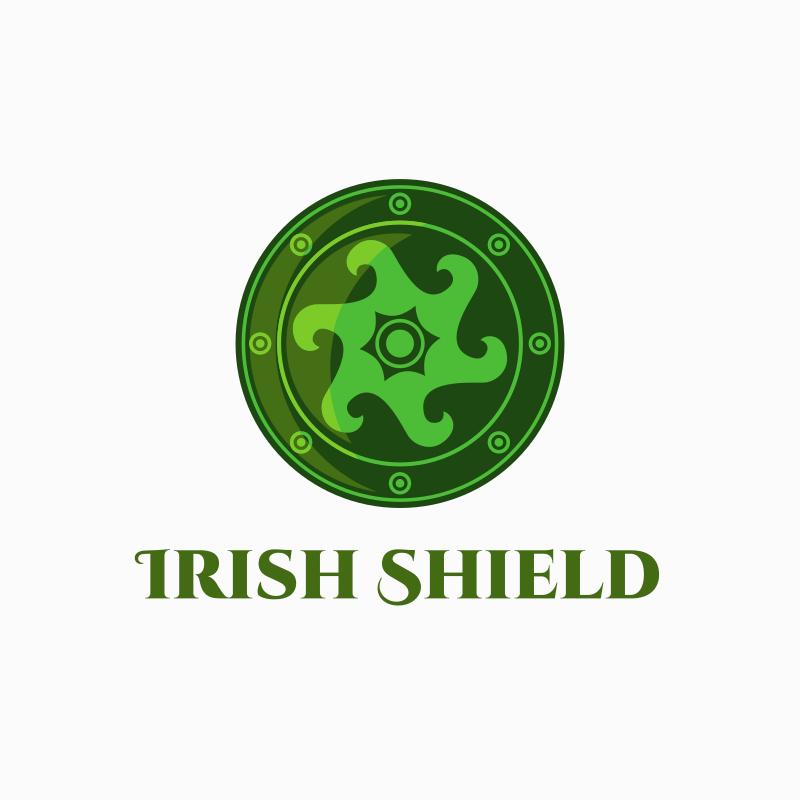 Irish Shield logo