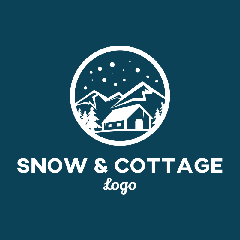 Snow and Cottage logo