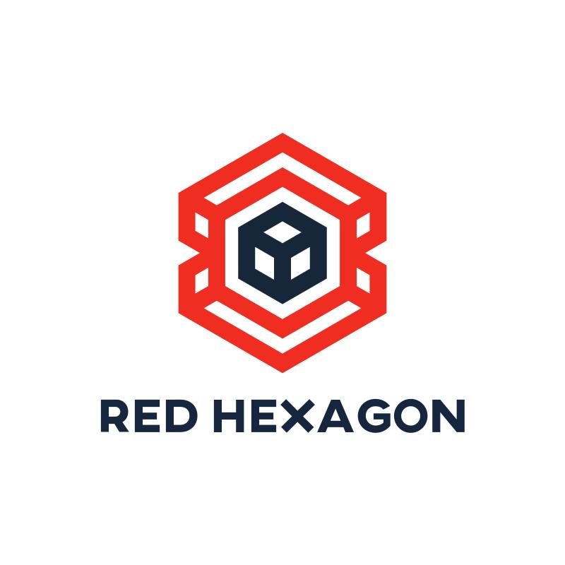 Red Hexagon logo
