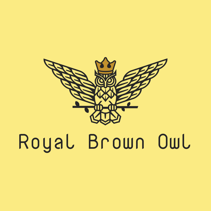 Royal Brown Owl Logo