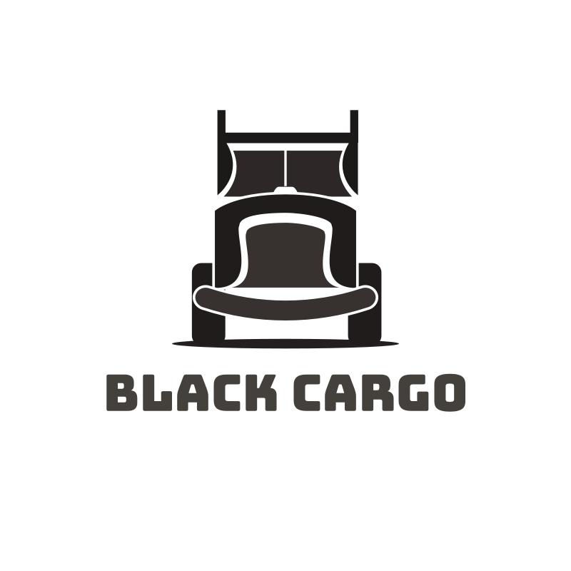 Black Cargo Logo