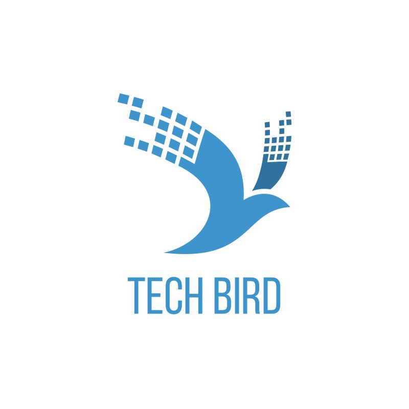 Tech Bird Logo Design