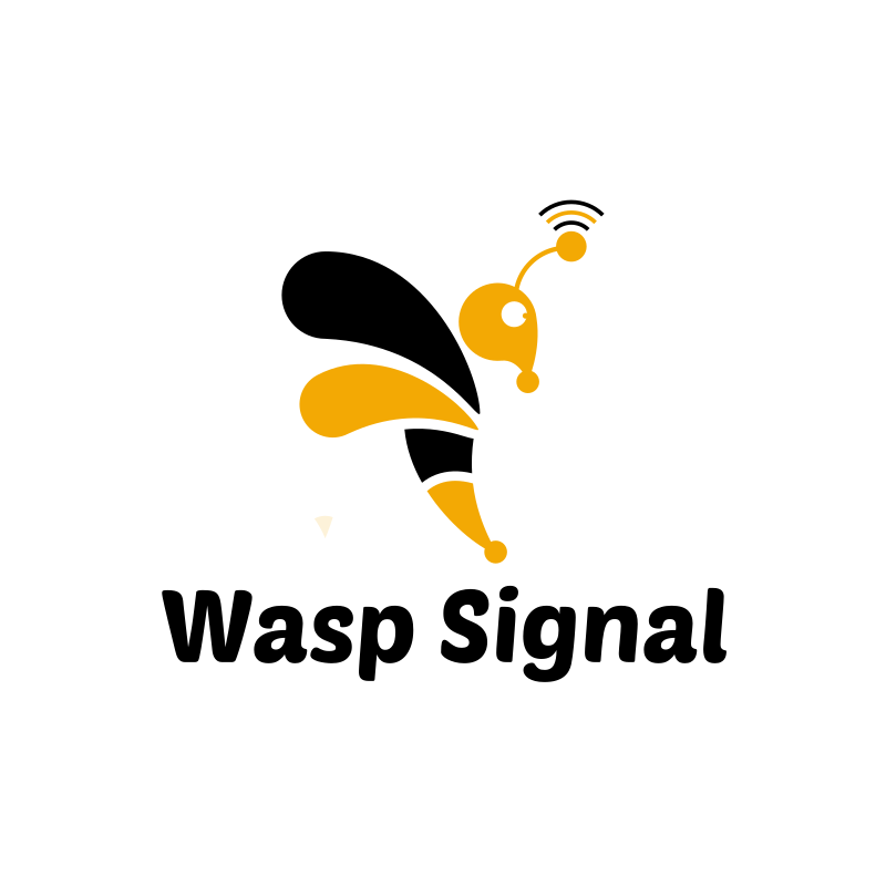 Wasp Signal Logo Design