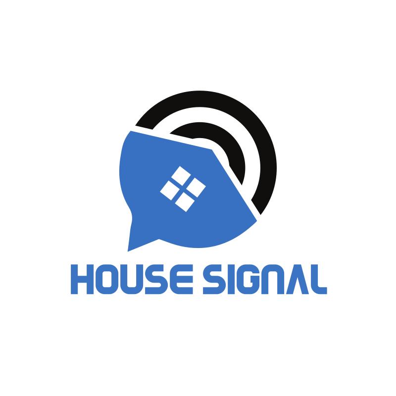 House Signal Logo Design