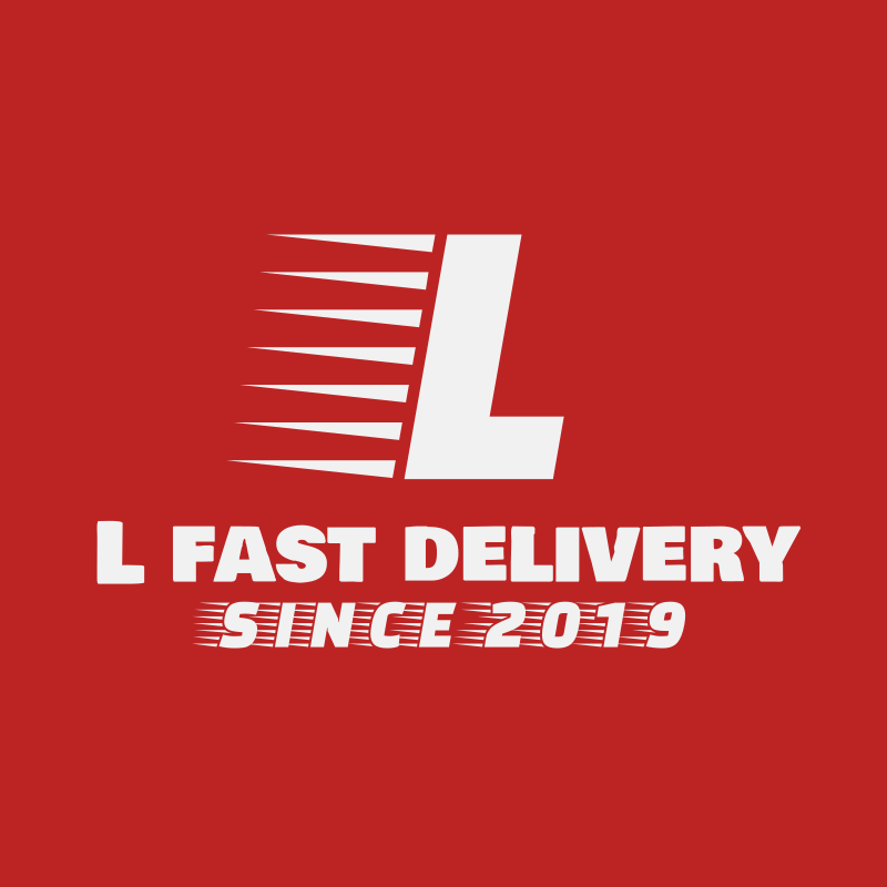L Fast Delivery Logo Design