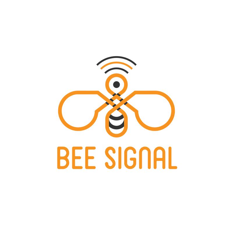 Bee Signal Logo Design