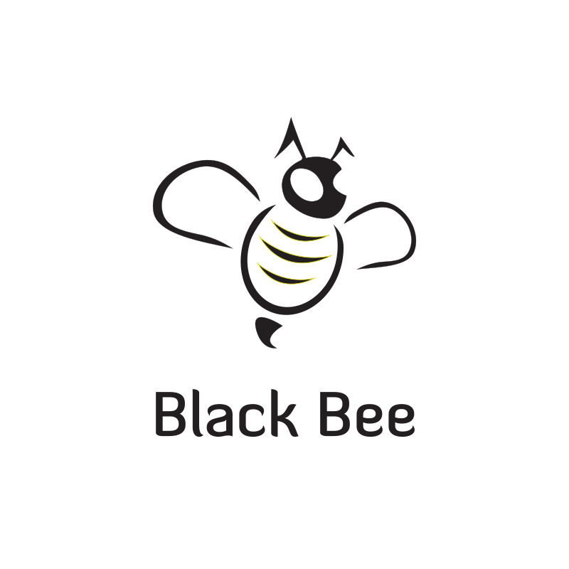Black Bee Logo