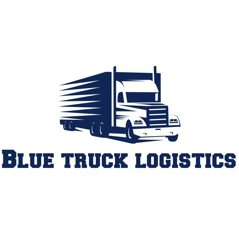 Blue Truck Logistics Logo