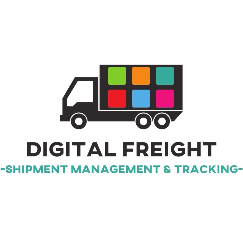 Digital Freight - Truck Application - Shipment Management & Tracking Logo