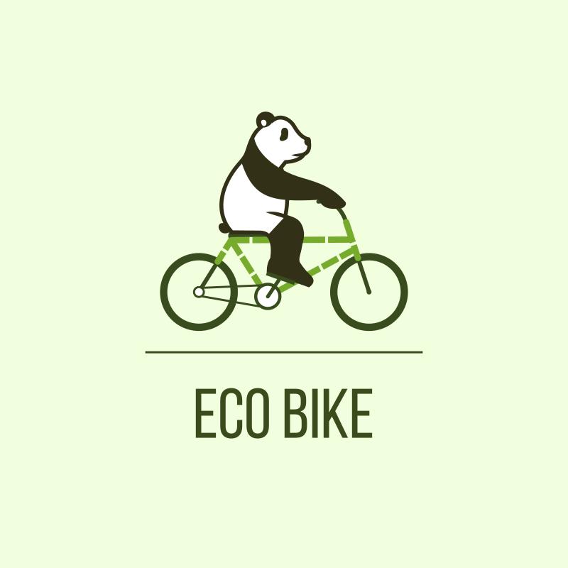 Panda Eco Bike Logo