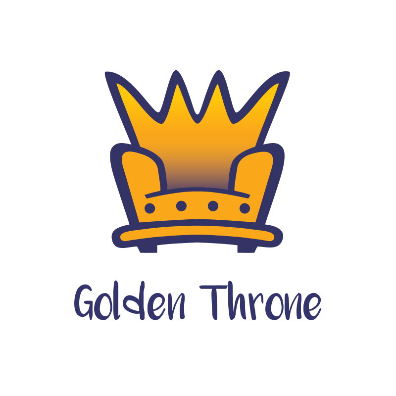 Golden Throne Logo