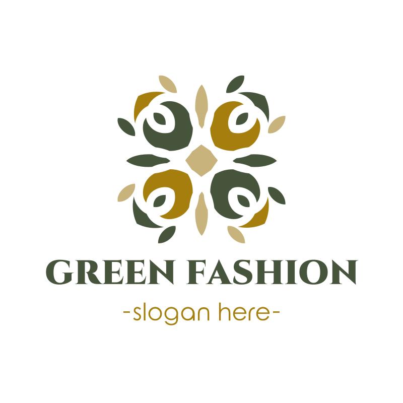 Green Fashion logo