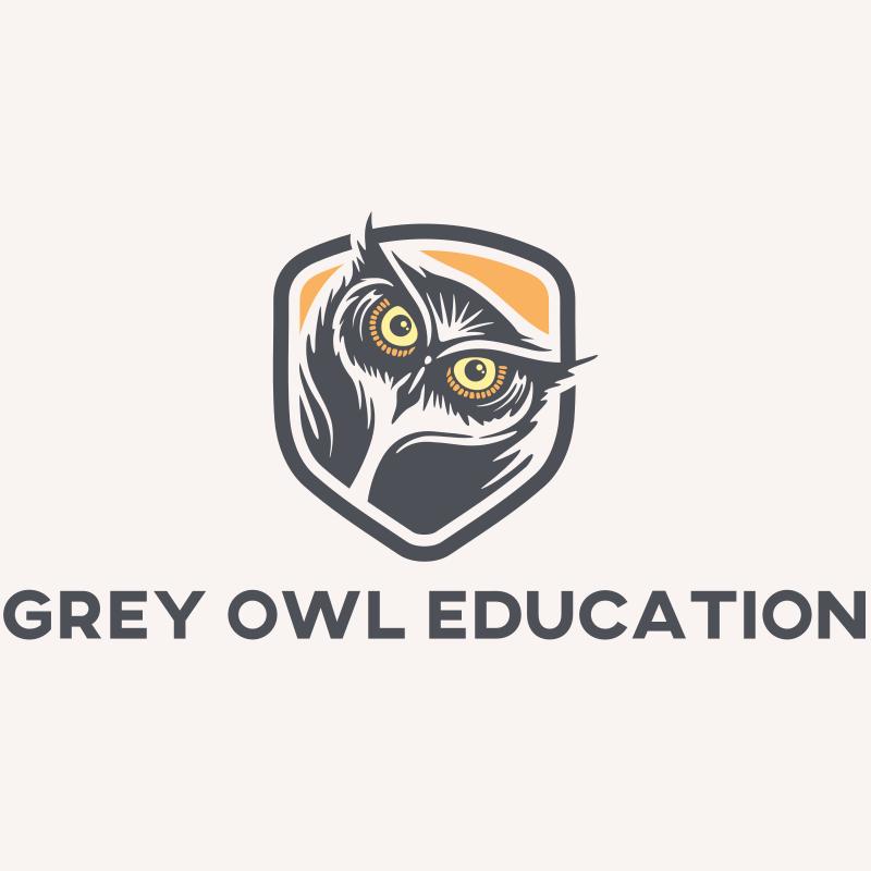 Grey Owl Education logo