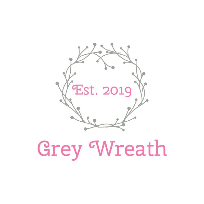 Grey Wreath Logo