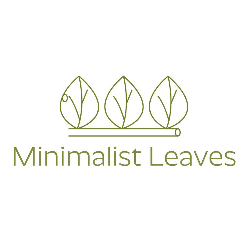 Minimalist Leaves Logo