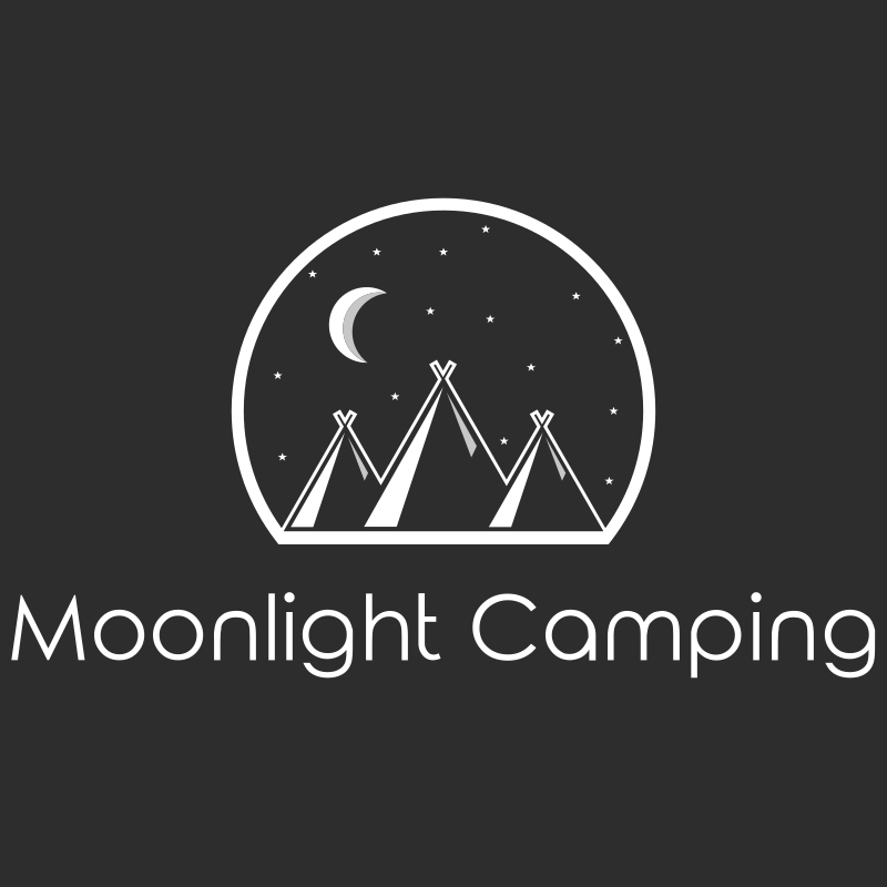Moonlight Camping Logo