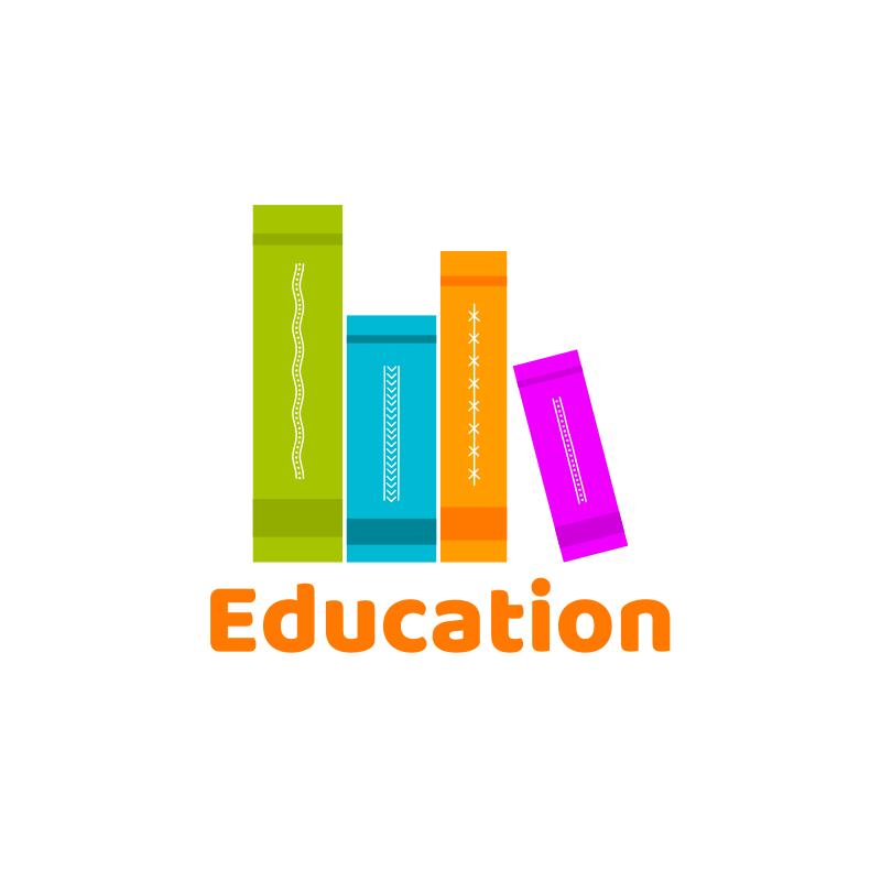 Colorful Books Logo