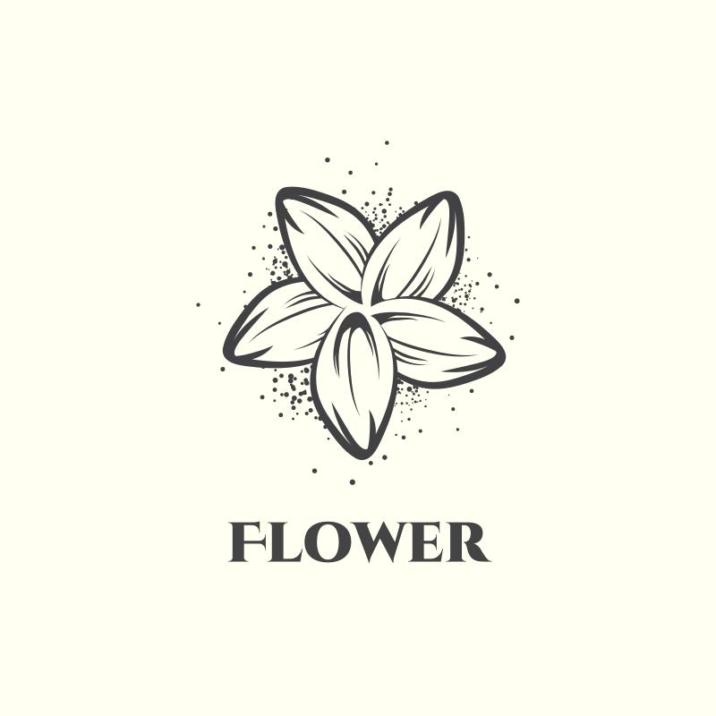 Flower Fashion Logo