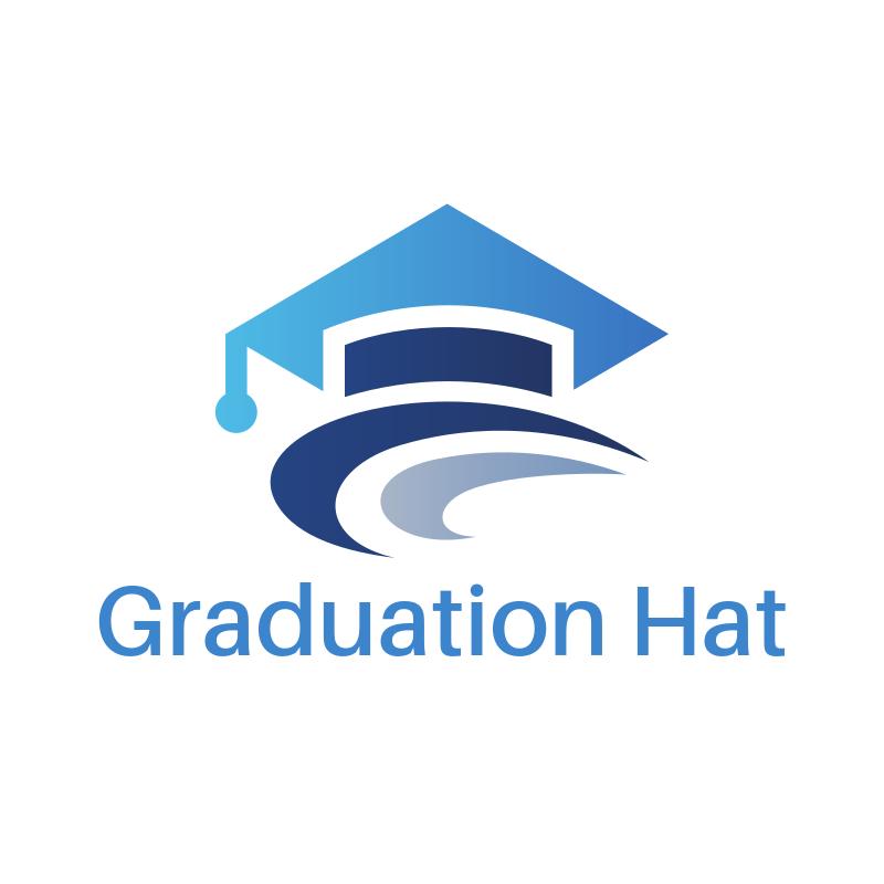 Graduation Hat Logo Design