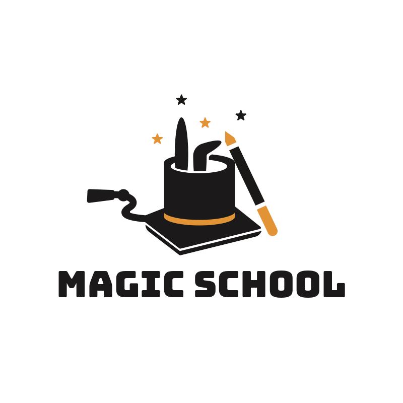 Magic School Logo Design