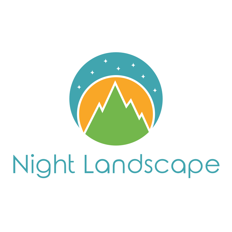 Night Landscape Logo