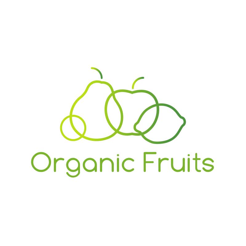 Organic Fruits Logo