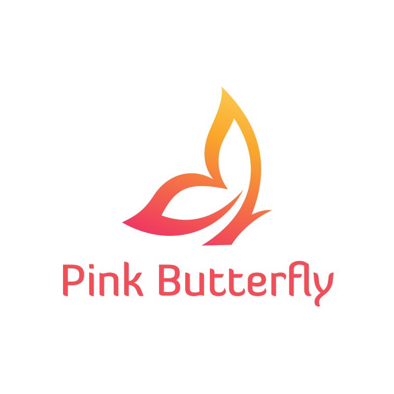 Pink Butterfly logo