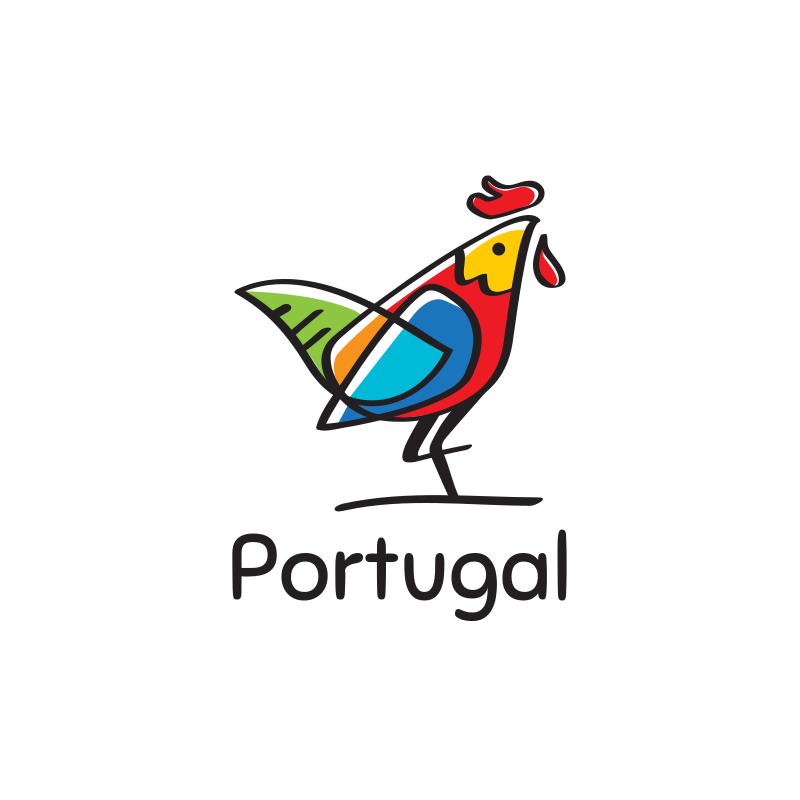 Portugal Rooster Logo