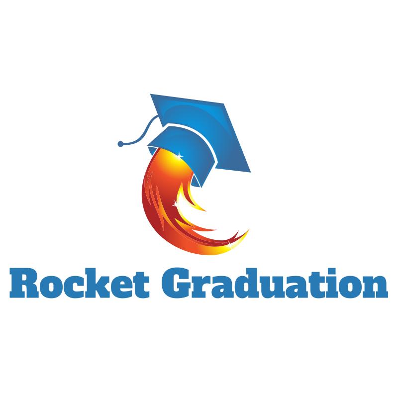 Rocket Graduation Logo