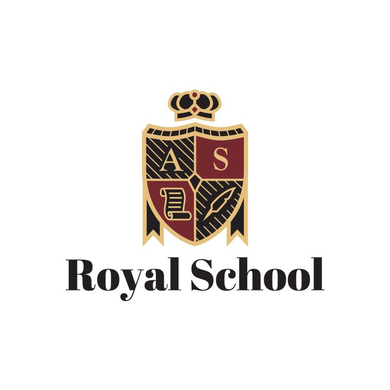 Royal School Logo Design