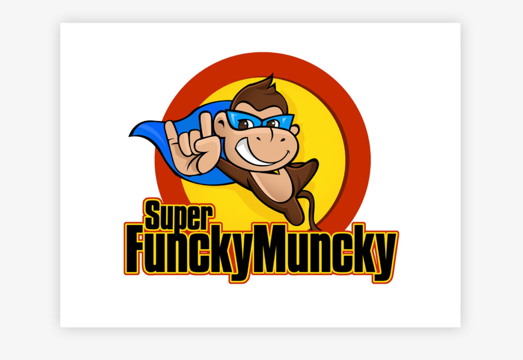 20 Funky Monkey Logos