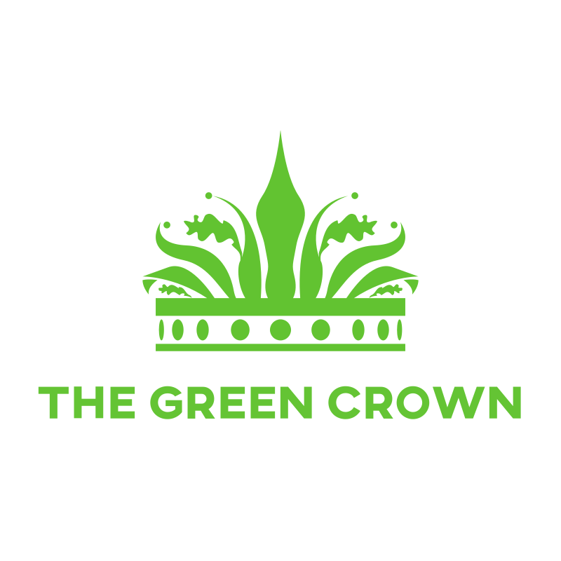 Green crown logo