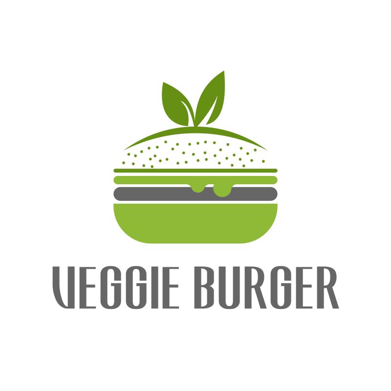 Veggie Burger Logo