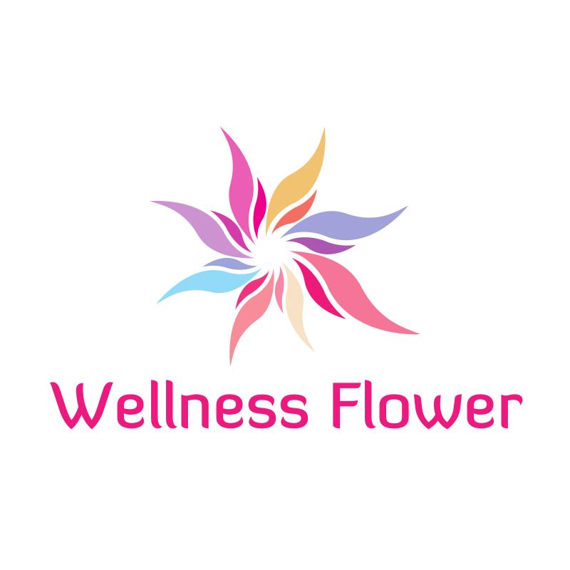 Wellness Flower Logo