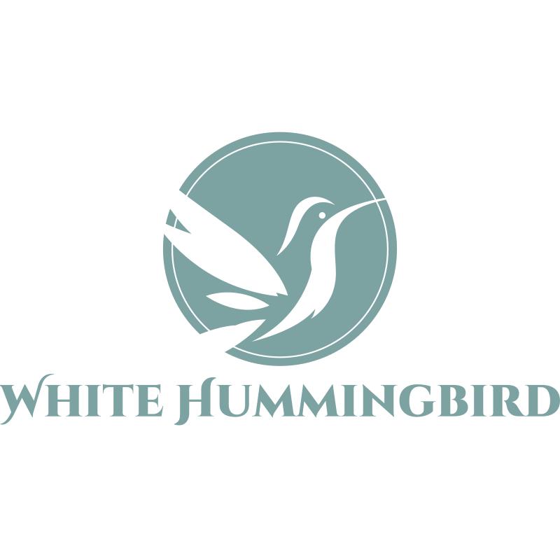 White Hummingbird Logo