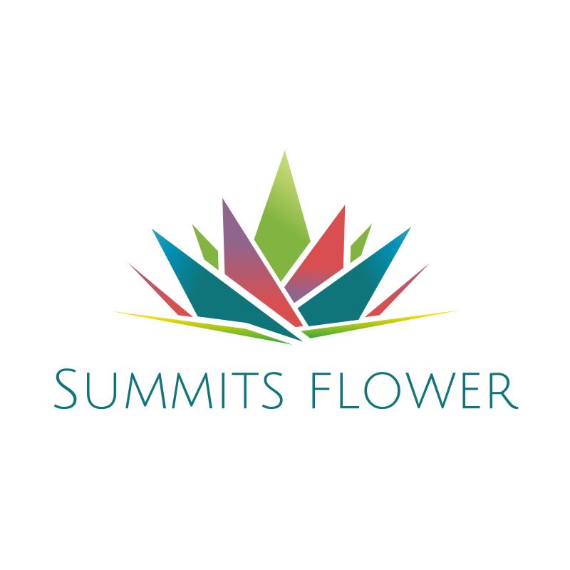 Summits Flower Logo
