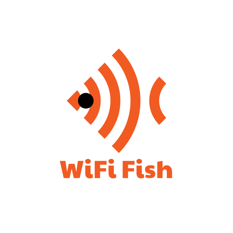 WiFi Fish Logo Design