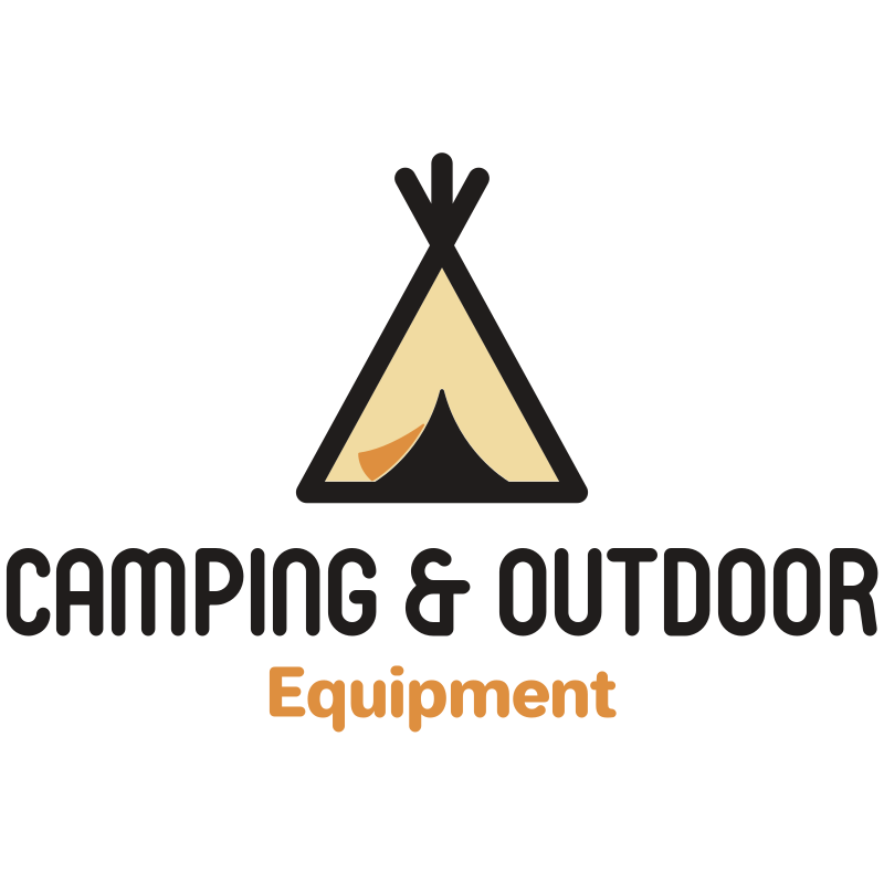 Camping and Outdoor Equipment Logo Design