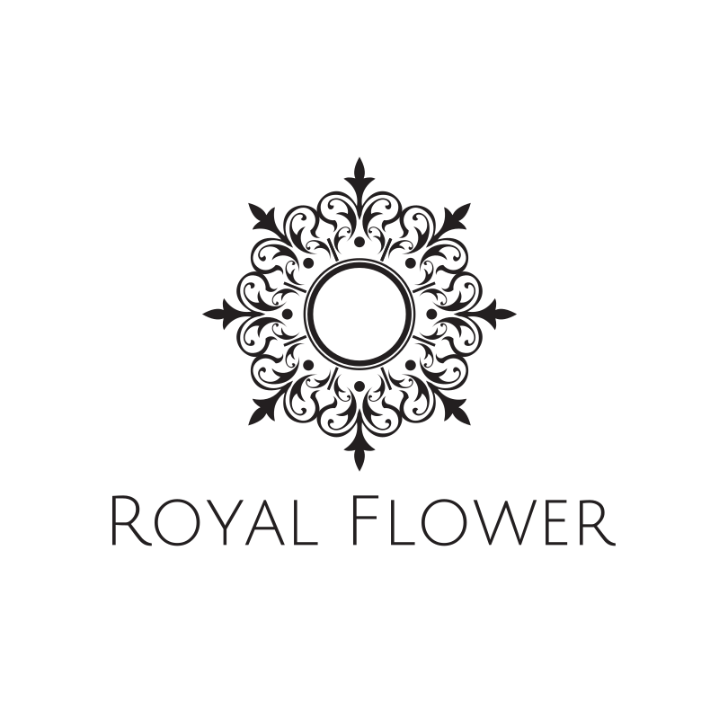Royal Flower Logo Design