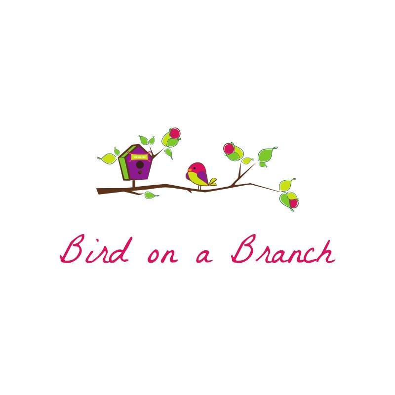 Bird On a Branch Logo Design