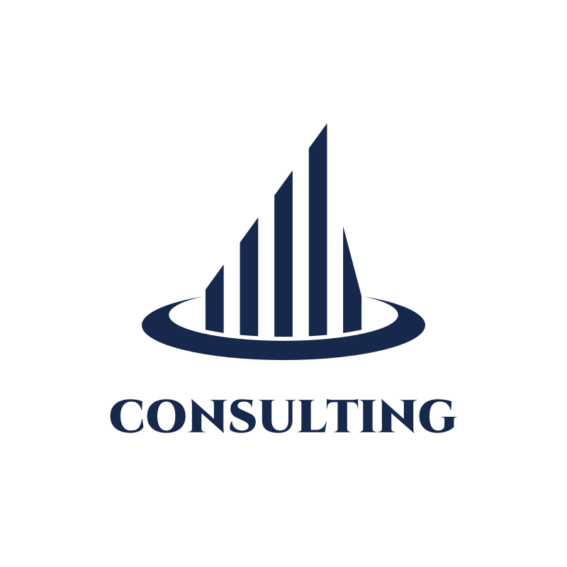 Blue Chart Consulting Logo Design