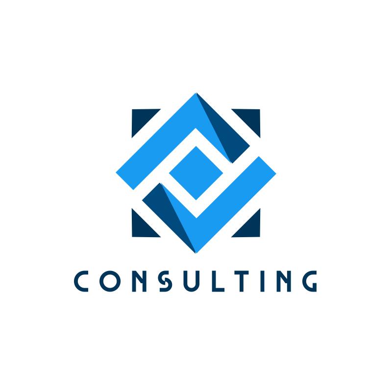 Blue Square Consulting Logo Design